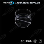 Plastic Petri Dish 90mm with 2 Compartments